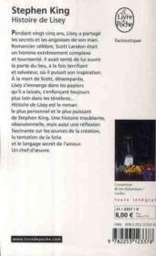 Histoire de Lisey - Couverture - Format classique