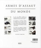 Armes d'assaut du monde - 4ème de couverture - Format classique