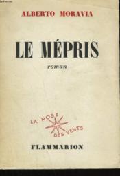 Le Mepris. - Couverture - Format classique