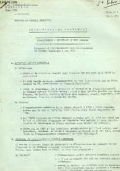 Commune Et Conseil Municipal, L'Organisation Communale, Qu'Est-Ce Qu'Une Commune ? (Serie 50) - Couverture - Format classique