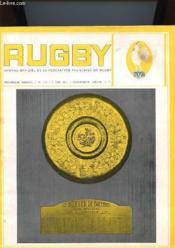 Rugby N°716 - Organe Officiel De La Ffr - Couverture - Format classique