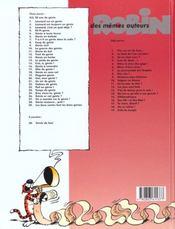 Genie En Sous-Sol - 4ème de couverture - Format classique