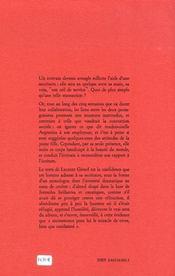 L'Attache Aveugle - 4ème de couverture - Format classique