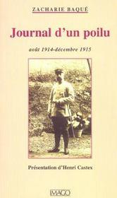 Journal d'un poilu ; août 1914-décembre 1915 - Intérieur - Format classique