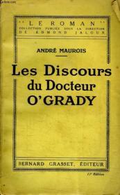Les Discours Du Docteur O'Grady. - Couverture - Format classique