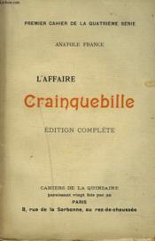 L'Affaire Crainquebille - Couverture - Format classique