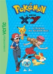 Pokémon T.17 ; l'arène du Grand-Duc - Couverture - Format classique