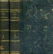 Traite De Therapeutique Et De Matiere Medicale / En 2 Tomes / Tomes 1 + 2 / 3e Edition Revue Et Corrigee. - Couverture - Format classique