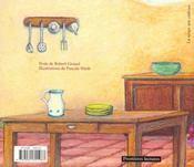 La soupe aux cailloux - 4ème de couverture - Format classique