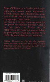Le Miroir De Satan - 4ème de couverture - Format classique