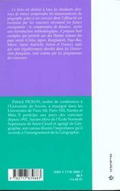 Le Commentaire De Dossiers En Geographie - 4ème de couverture - Format classique