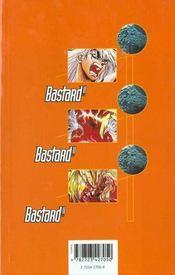 Bastard !! - Tome 15 - 4ème de couverture - Format classique