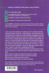 Les Services Dans Le Monde - 4ème de couverture - Format classique