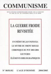 Revue Communisme N.80/82 ; La Guerre Froide Revisitée - Couverture - Format classique