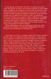 Dict des francs carolingiens - 4ème de couverture - Format classique