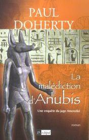 La Malediction D'Anubis - Intérieur - Format classique
