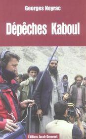 Depeche De Kaboul - Intérieur - Format classique
