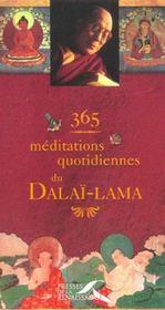 365 meditations quotidiennes pour eclairer votre vie - Intérieur - Format classique
