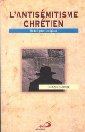 Antisemitisme Chretien (L') - Intérieur - Format classique