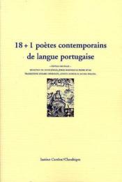 18 + 1 Poetes Portugais - Couverture - Format classique