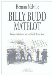 Billy Budd ; matelot - Couverture - Format classique