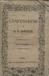 Les Confessions Tome Deuxieme - Couverture - Format classique