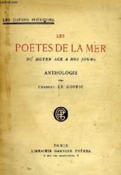 Les Poetes De La Mer, Du Moyen Age A Nos Jours - Couverture - Format classique