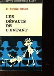Les Defauts De L'Enfant - Couverture - Format classique