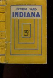 Indiana - Couverture - Format classique