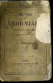 Oeuvres De Vergniaud Guadet - Gensonnee - Recueillies Et Annotees Par A.Vermorel. - Couverture - Format classique