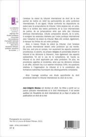 Le statut du tribunal international du droit de la mer ; commentaire article par article - Couverture - Format classique