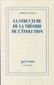 La structure de la théorie de l'évolution - Intérieur - Format classique