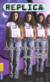 Replica T.1 ; Amy Numero 7 - Intérieur - Format classique