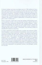 Encyclopedie Protection Sociale - 4ème de couverture - Format classique