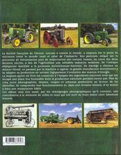 Tracteurs Sfv - 4ème de couverture - Format classique