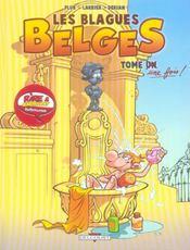 Les blagues belges t.1 ; tome une fois - Intérieur - Format classique