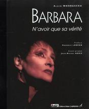Barbara, toute une vie d'amour - Intérieur - Format classique