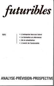 Futuribles No99 Mai 1986 - Couverture - Format classique