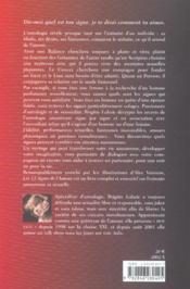 12 signes de l amour - 4ème de couverture - Format classique
