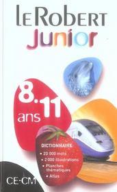 Dictionnaire Le Robert junior - Intérieur - Format classique