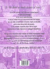 Le Vin Illustres En Bande Dessinees - 4ème de couverture - Format classique