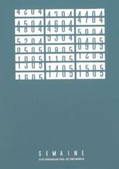 Coffret Semaine 25 A 48 - Couverture - Format classique