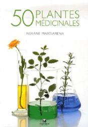 50 plantes medicinales - Couverture - Format classique