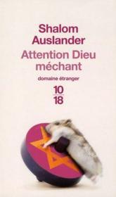Attention Dieu mechant - Couverture - Format classique