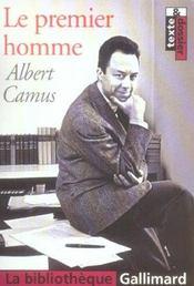 Le Premier Homme - Intérieur - Format classique