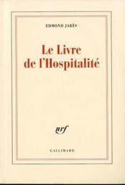 Le livre de l'hospitalité - Couverture - Format classique