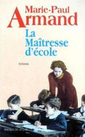 La maîtresse d'école - Couverture - Format classique