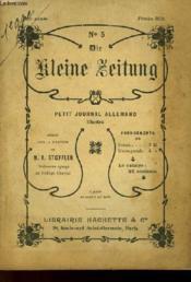 Die Kleine Zeitung N°5 - Petit Journal Allemand Illustre - Couverture - Format classique