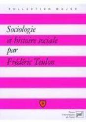 Sociologie et histoire sociale - Couverture - Format classique