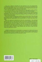Guide Pratique Pour Bien Gerer L'Eau - 4ème de couverture - Format classique